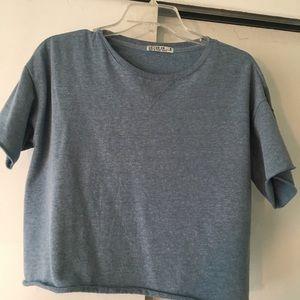 Oversized Light Blue T-shirt